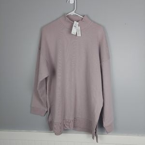 NWT American Eagle Sweatshirt, Medium Blush Pink